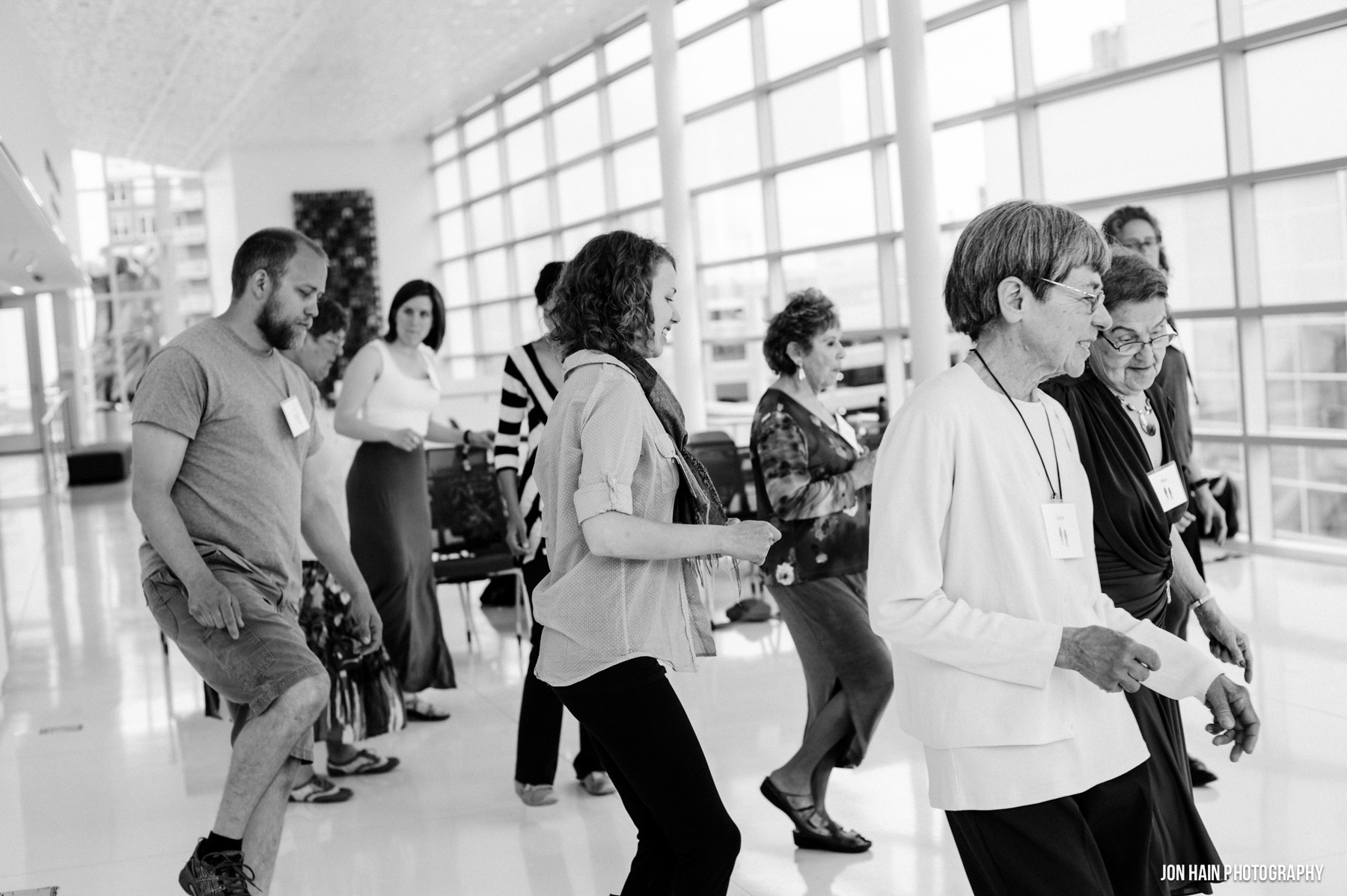 Ballroom Balance Class